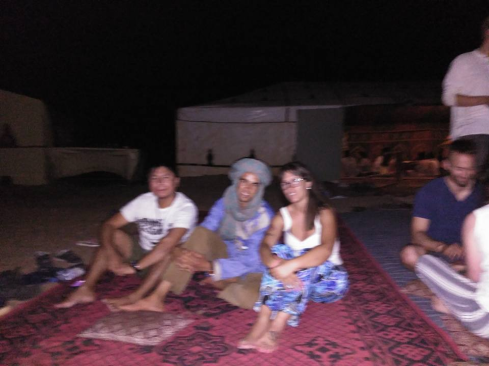 noche desierto
