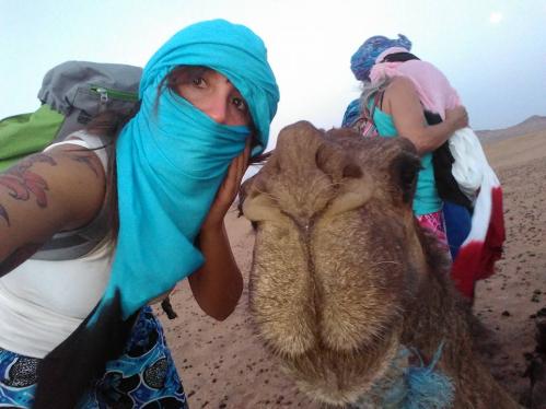 selfie camello